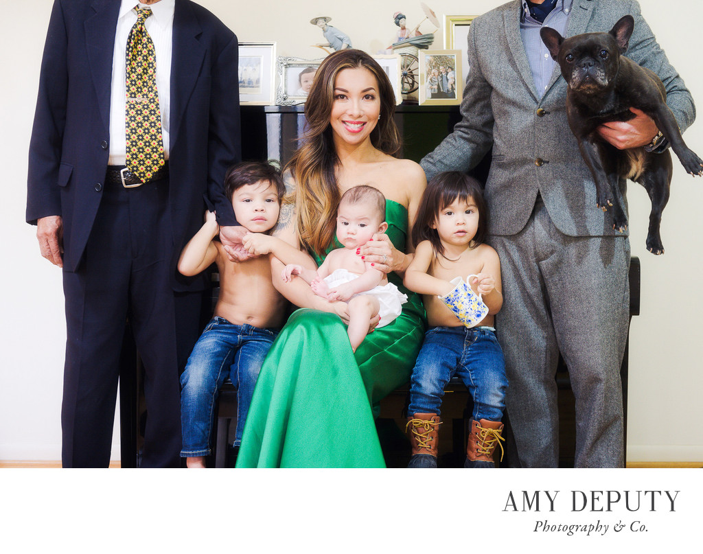Unconventional Family Portraits, Maryland Photographer