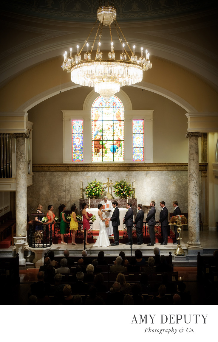 St John's Church Washington DC Wedding Photography