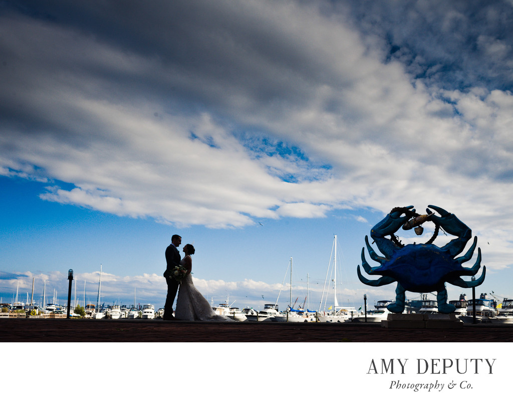 Henderson's Wharf, Baltimore Wedding Photography