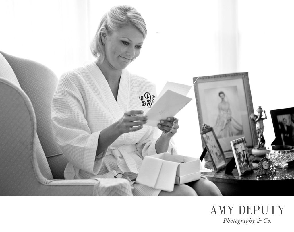 Black & White Wedding Photography in Baltimore & DC