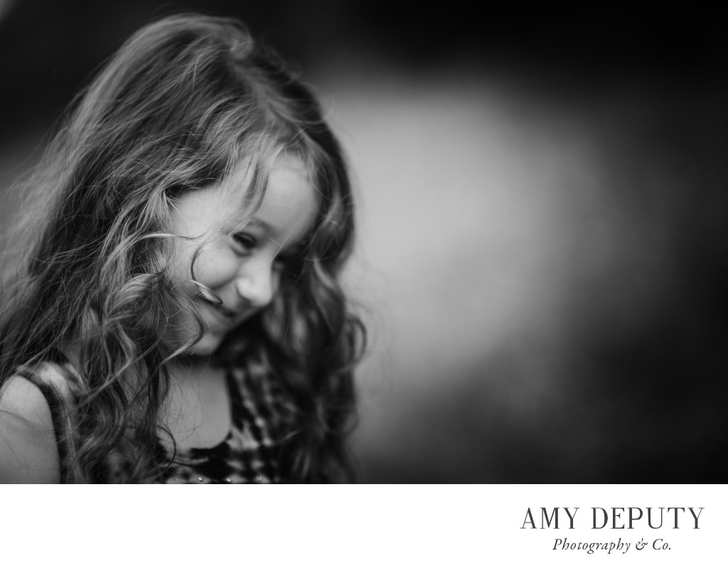 Black & White Family Portraits, Baltimore Maryland