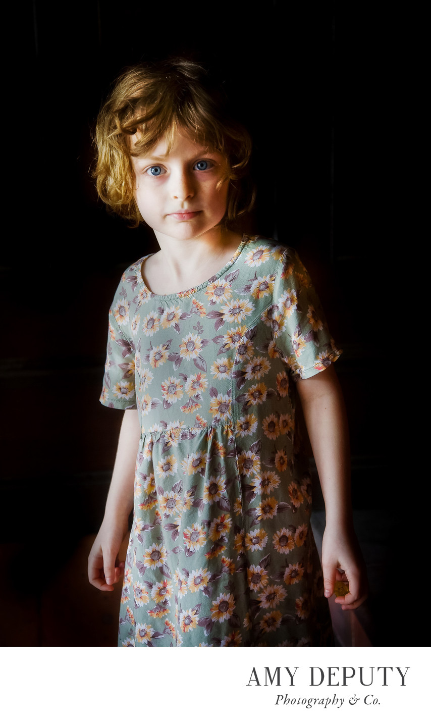 Children Portraits in Baltimore Maryland