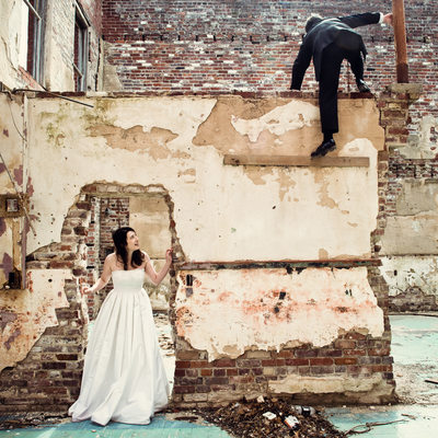 Edgy Urban Wedding Photography
