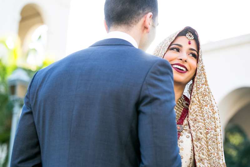 Colorful Muslim Wedding Celebration