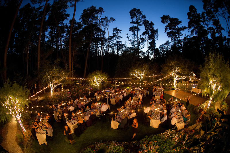 Seaside Cambria Wedding Reception