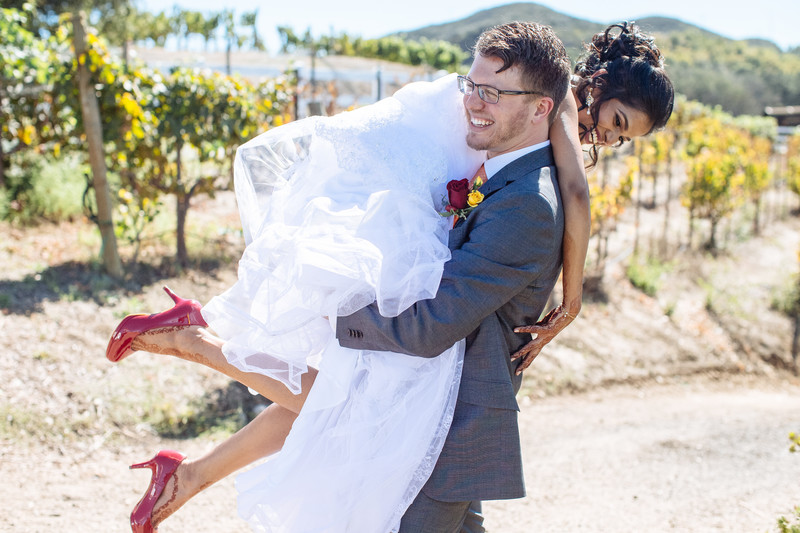 Fun Wedding Photography at Saddlerock Ranch
