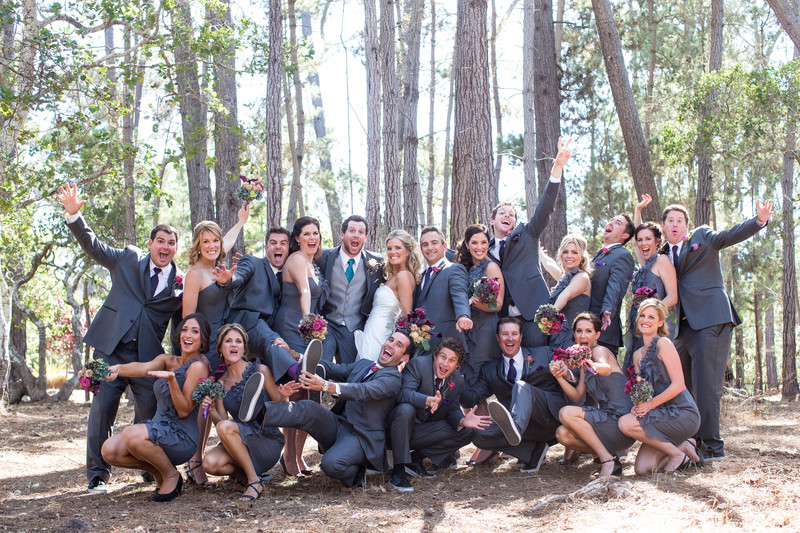 Bridal Party in Cambria California