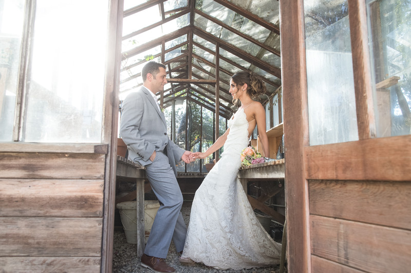 Wedding Photos at Orcutt Ranch in West Hills