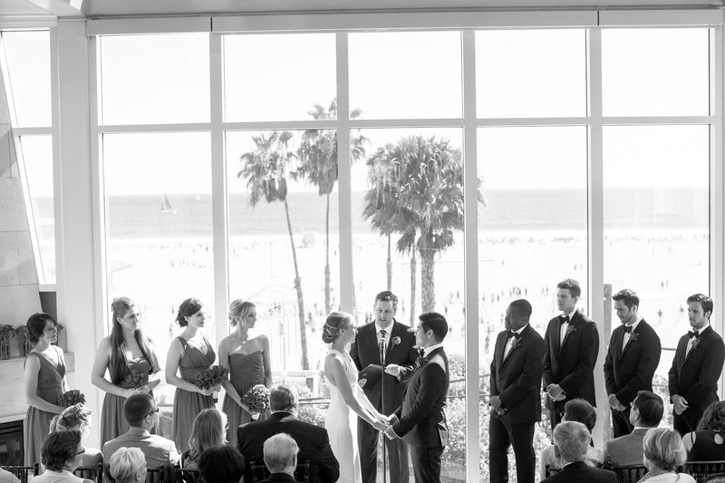Loews Santa Monica Wedding Ceremony
