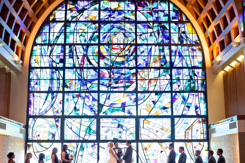 Wedding Photography at Pepperdine's Stauffer Chapel