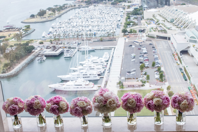 Bridal Bouquet and Florals Photography in San Diego