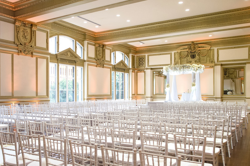 Wedding Ceremony Chuppah Decor Photography at Alexandria Ballrooms
