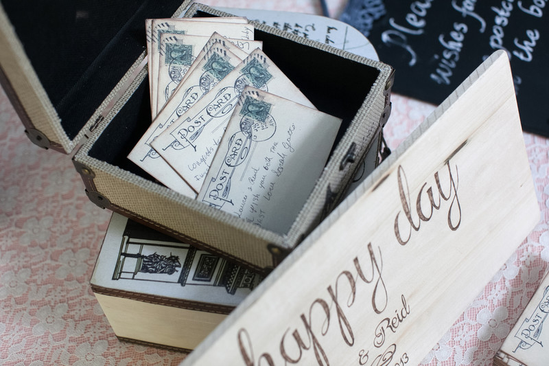 Vintage Wedding Favor Details