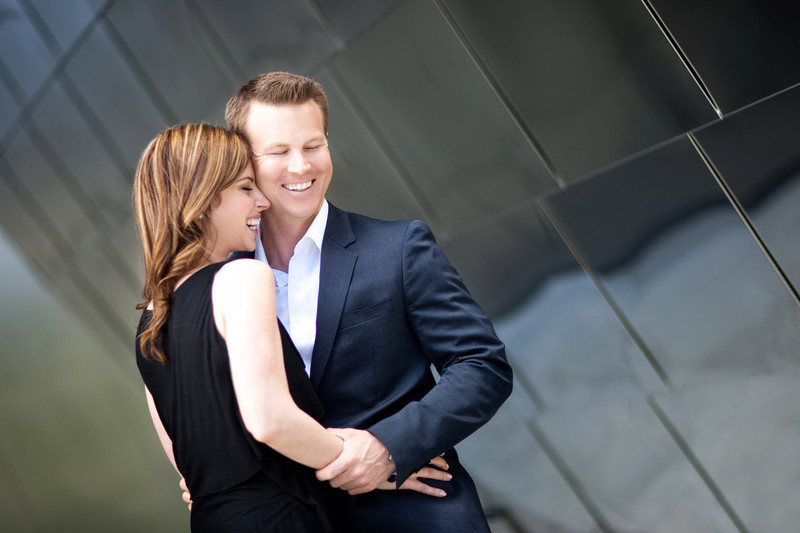 Engagement Sesson at Disney Hall Los Angeles