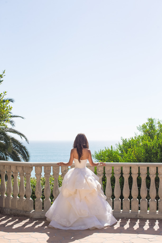 Wedding Ceremony at Bel-Air Bay Club