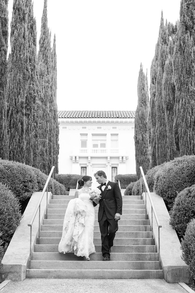 Garden Wedding Ceremony in Pasadena