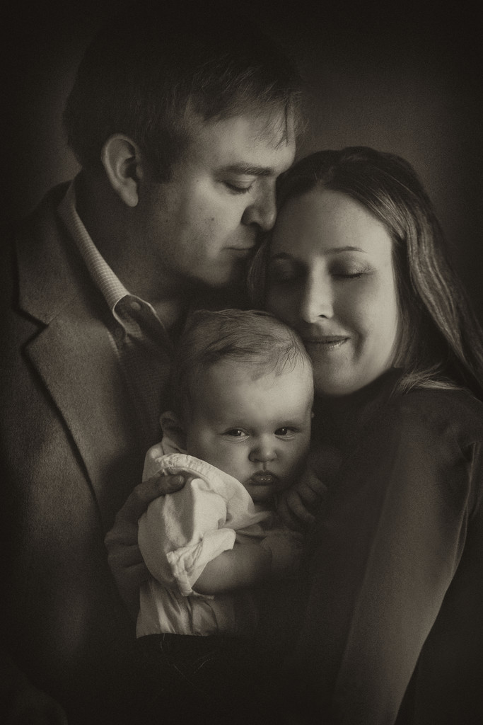 Intimate Family Portraits in La Canada, CA