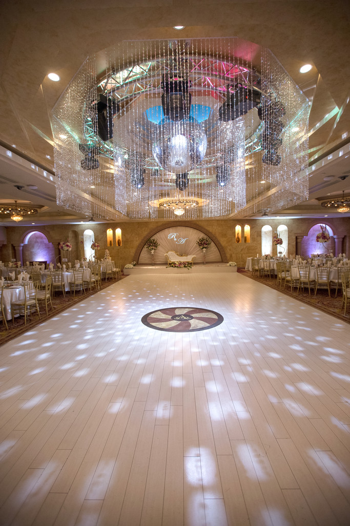 Wedding Ballroom Decor and Details Photography at Le Foyer
