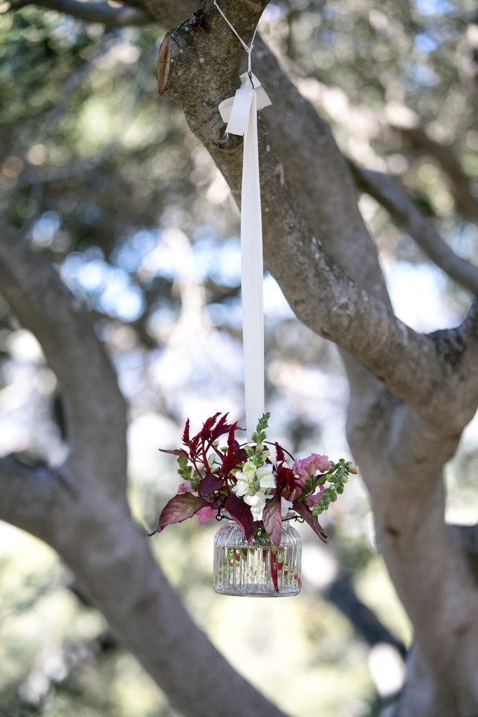 Rustic Wedding Ceremony Decor Photography in Santa Barbara