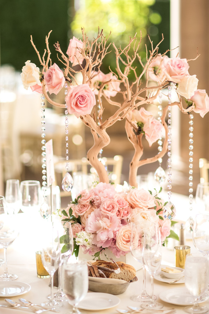 Wedding Centerpiece Decor Photography