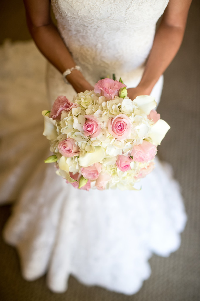 Gorgeous Trendy Bridal Bouquet in Huntington Beach
