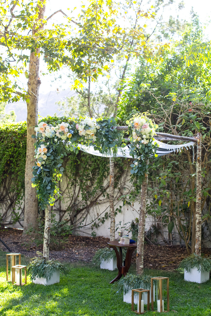 Wedding Ceremony Chuppah Decor Photography