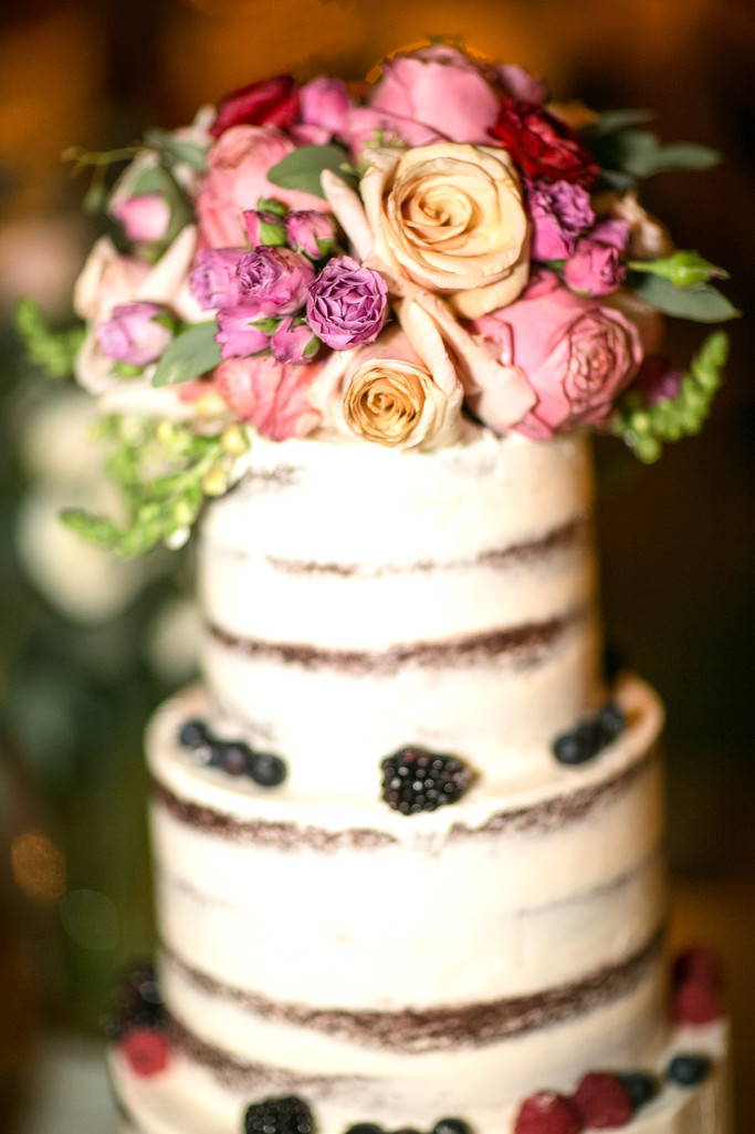 Wedding Cake and Floral Decor Photography
