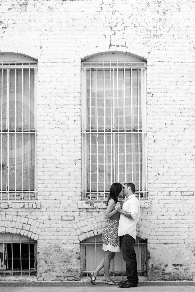 Old Town Pasadena Engagement Session Photographer