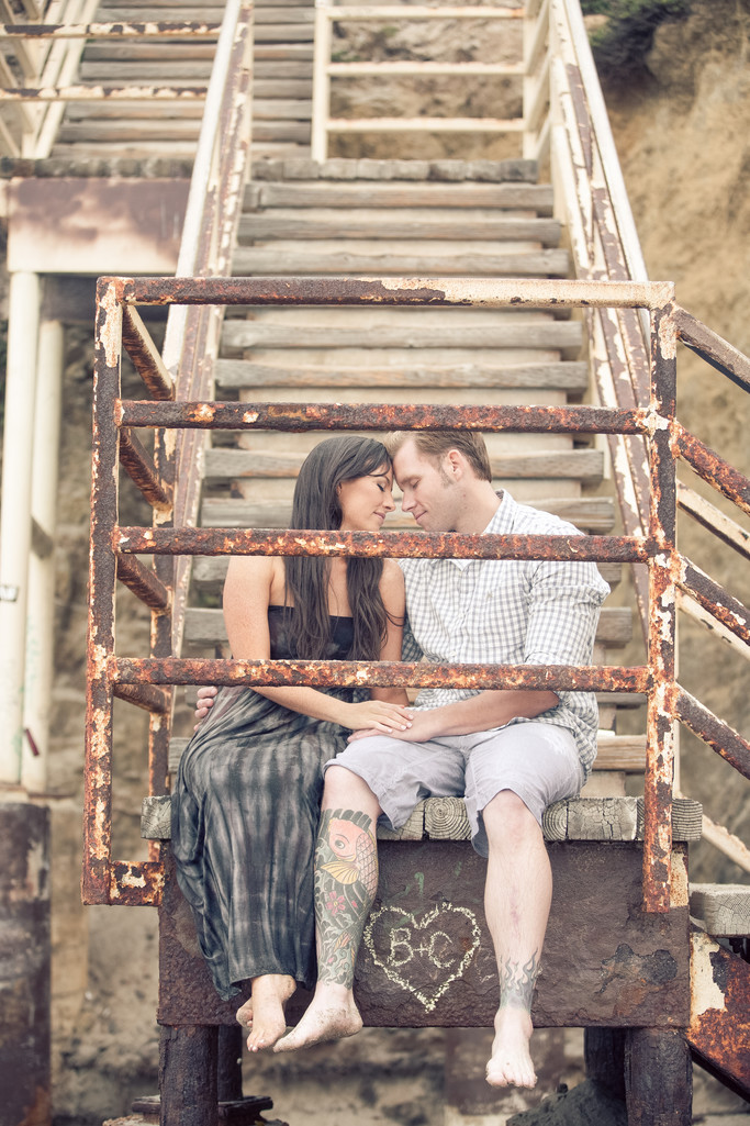 Engagement Session at El Matador Beach