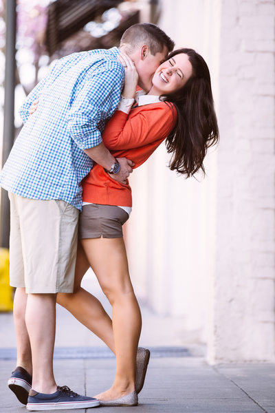 Fun and Trendy Old Town Pasadena Engagement Photography