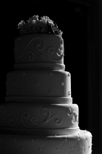 Wedding Cake Decor Photography