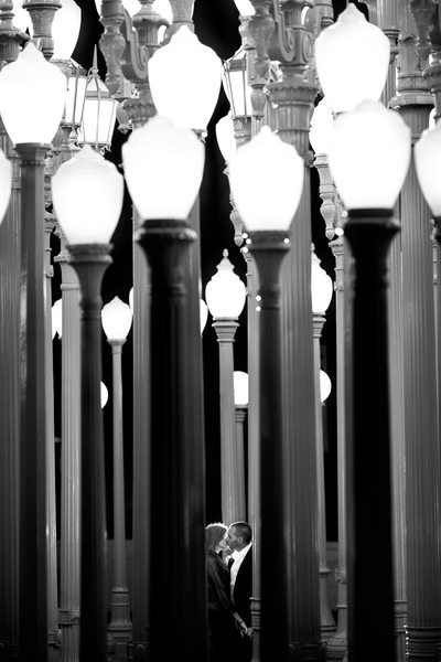 LACMA Engagement Session Los Angeles