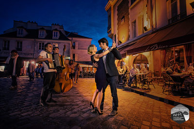 Paris Portrait Photographer - La Valse Parisienne
