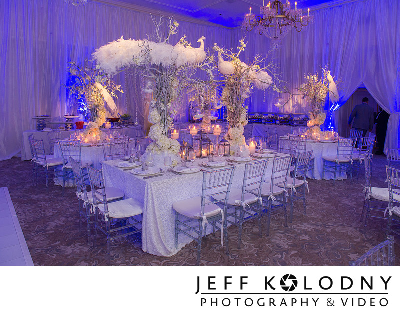 Decor shot taken at the Fisher Island Club.