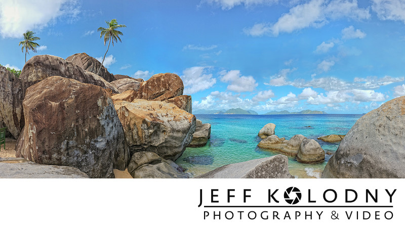 The Baths Travel Scene by Jeff Kolodny