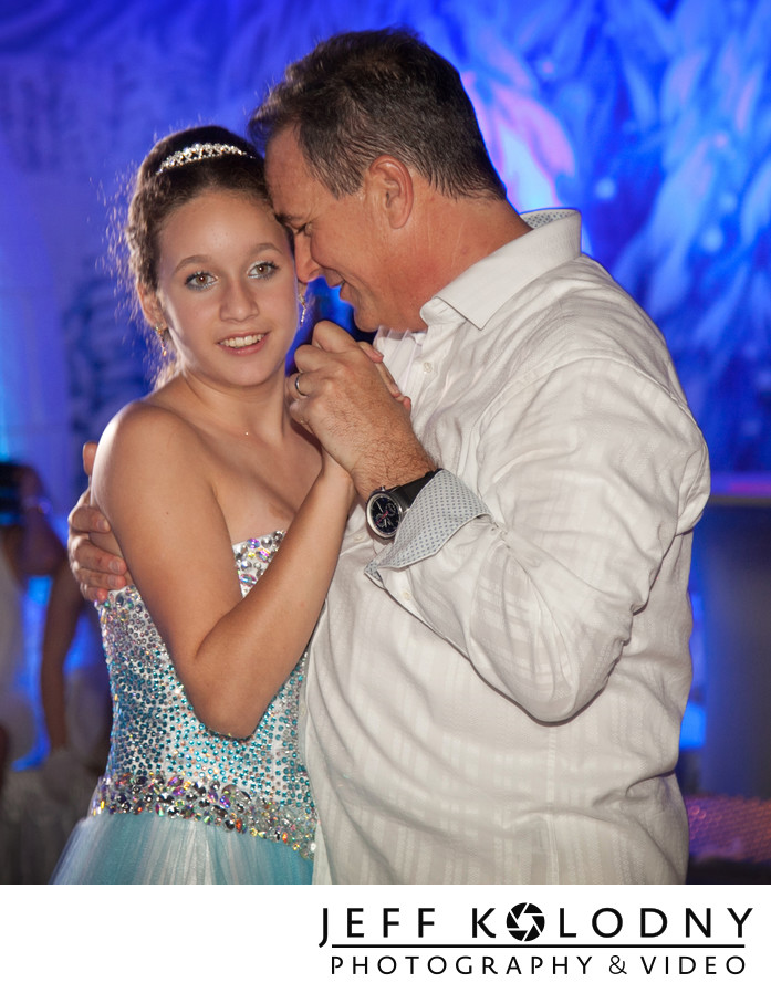 Father Daughter Dance taken at a Bat Mitzvah