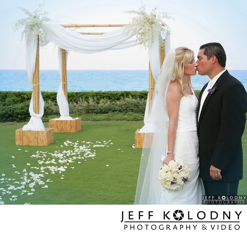 Wedding Photo taken at The Breakers, Palm Beach FL