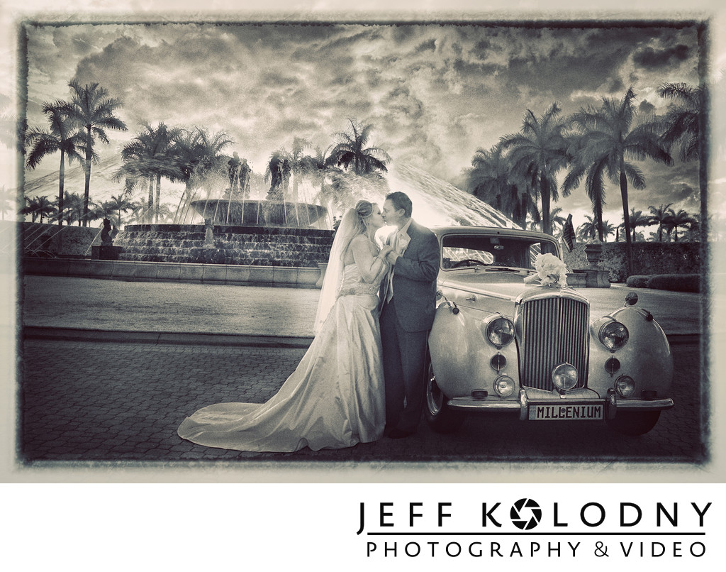 South Florida wedding photo