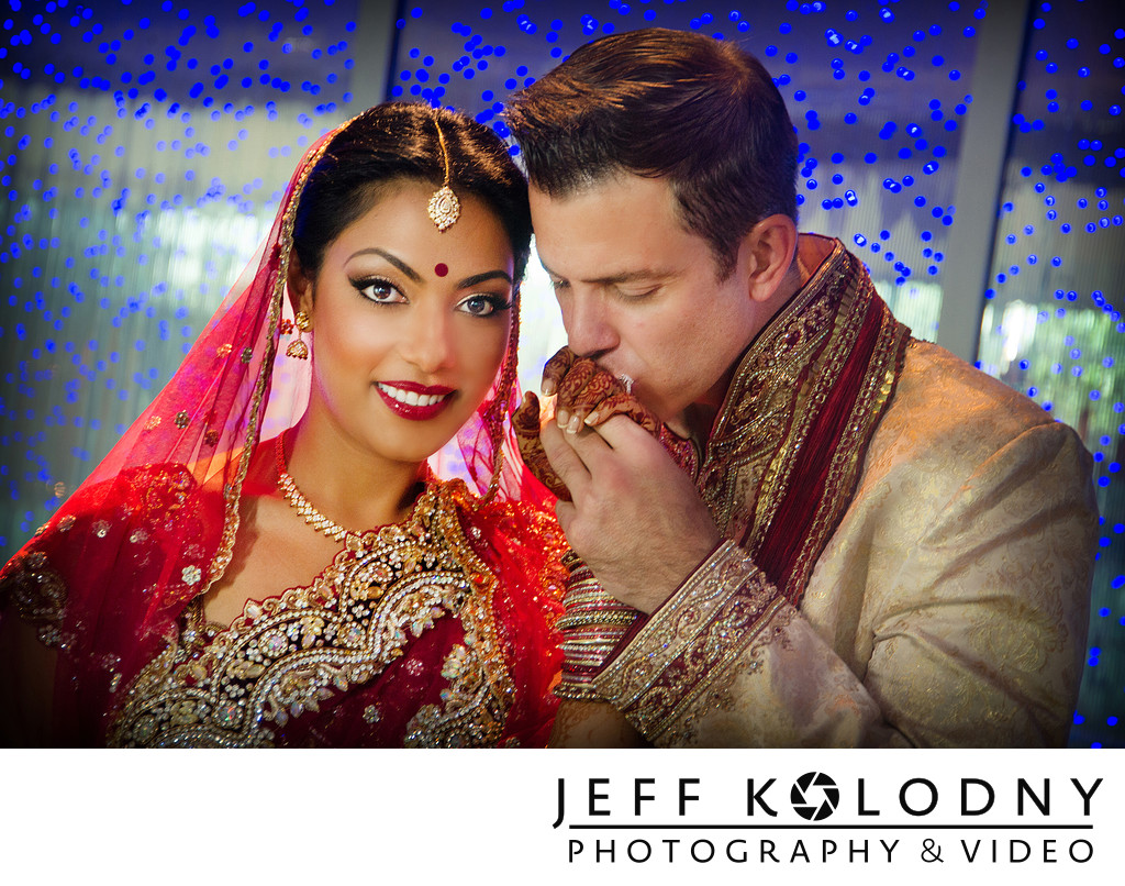Indian wedding at the Diplomat Hotel.