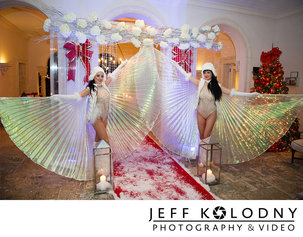 Live decor in Fisher Island