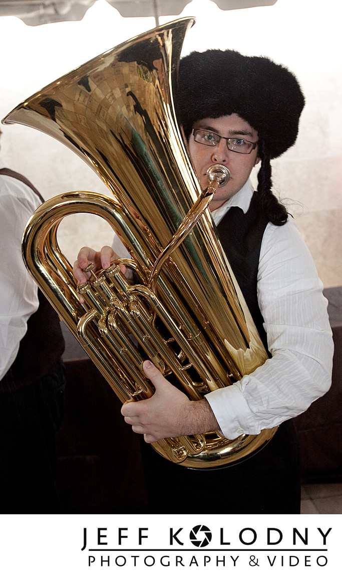Bar Mitzvah Tuba shot