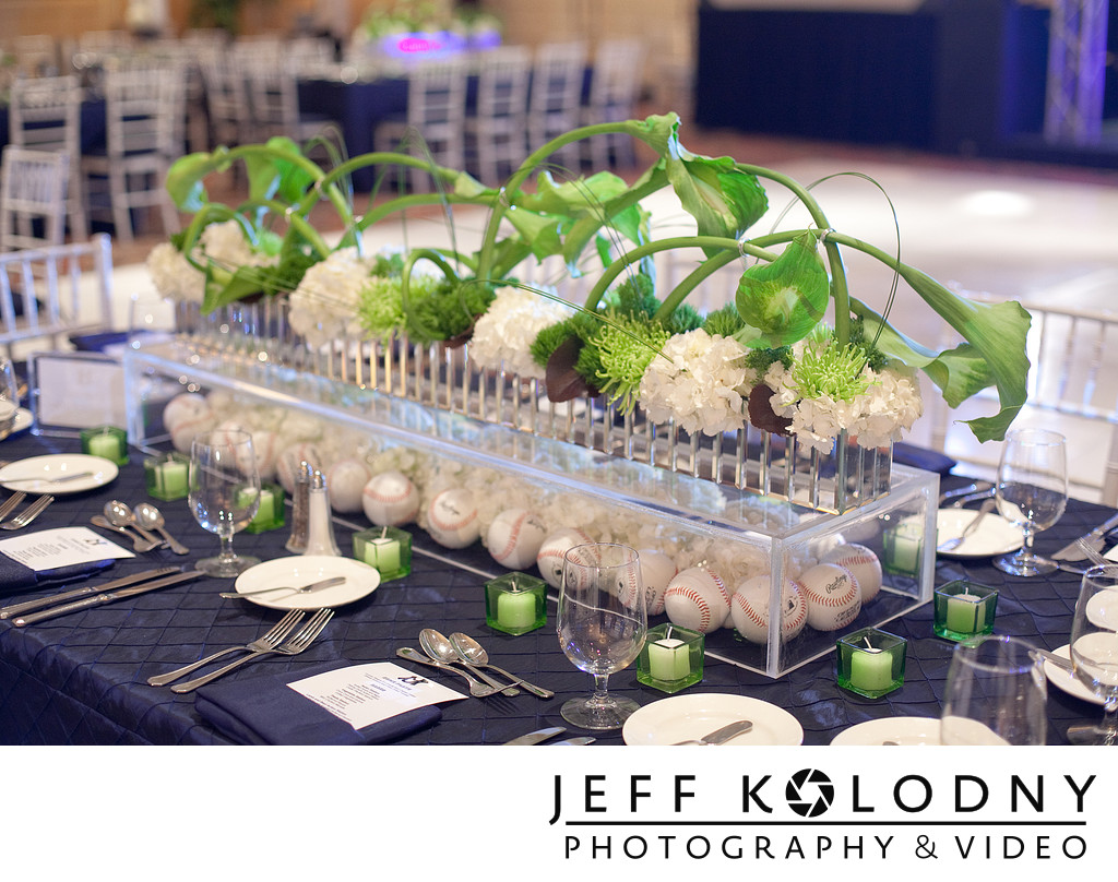 Bar Mitzvah Table Decor