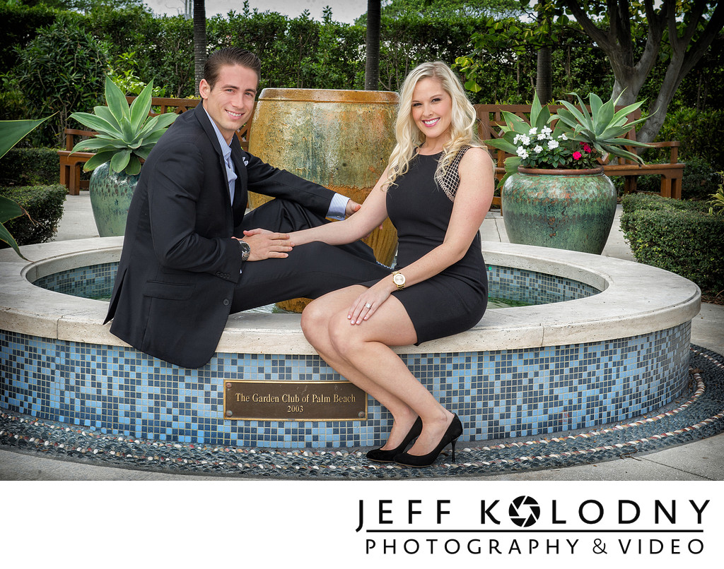 Palm Beach Engagement Picture