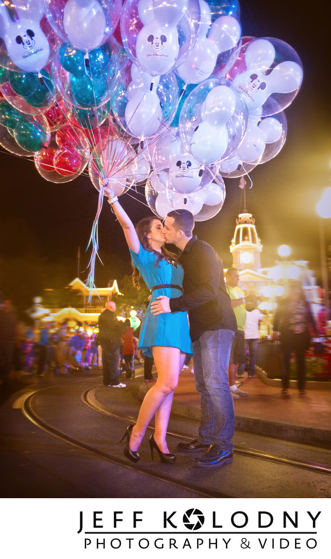 Disney World Engagement Shoot