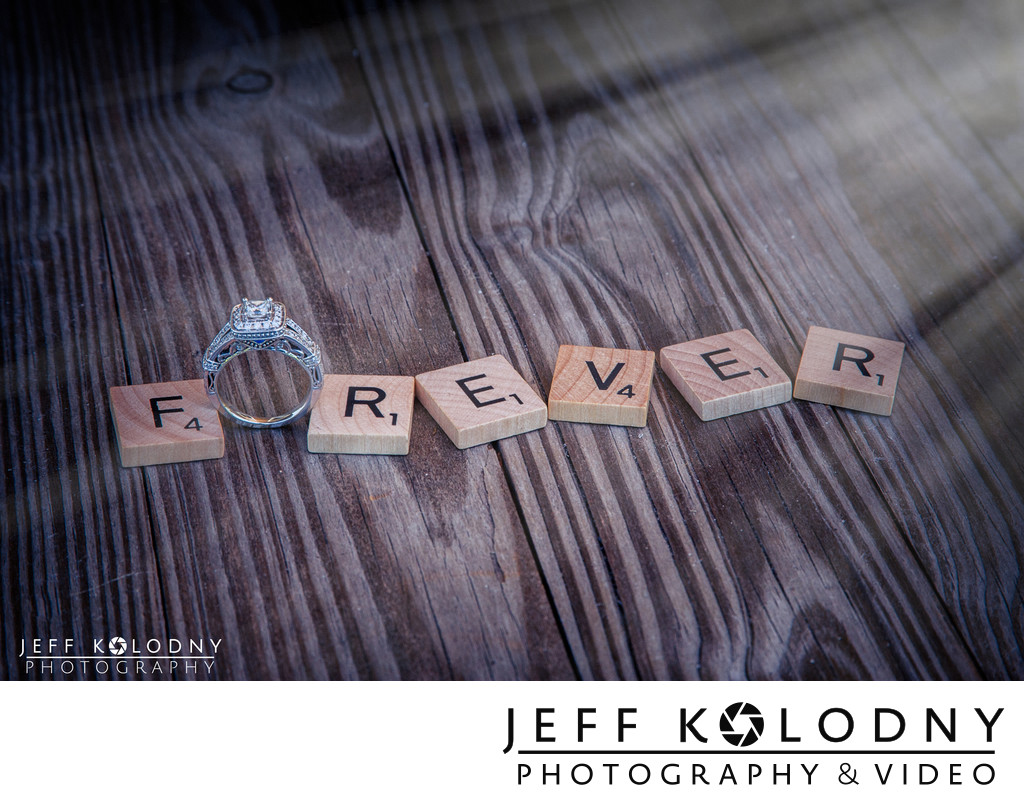 Fun Wedding Ring Shot