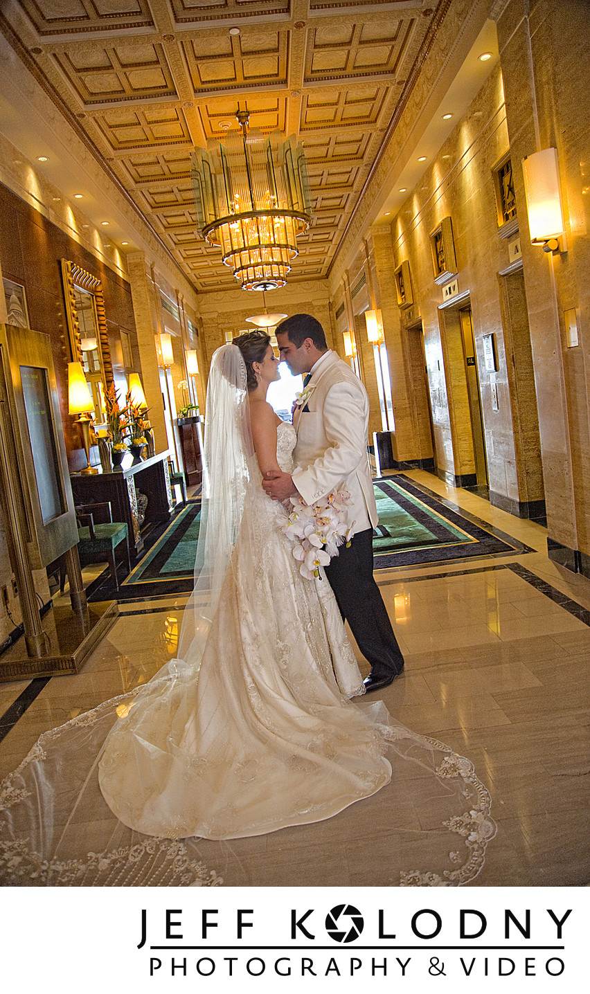 Bride and Groom at a Washington DC wedding