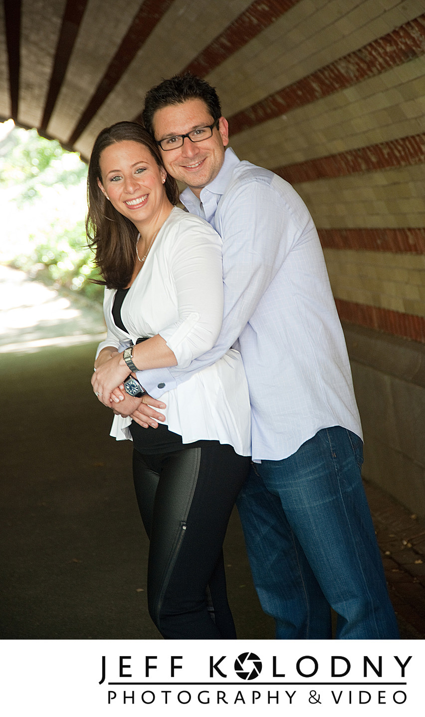 Central Park Engagement Photography by Jeff Kolodny