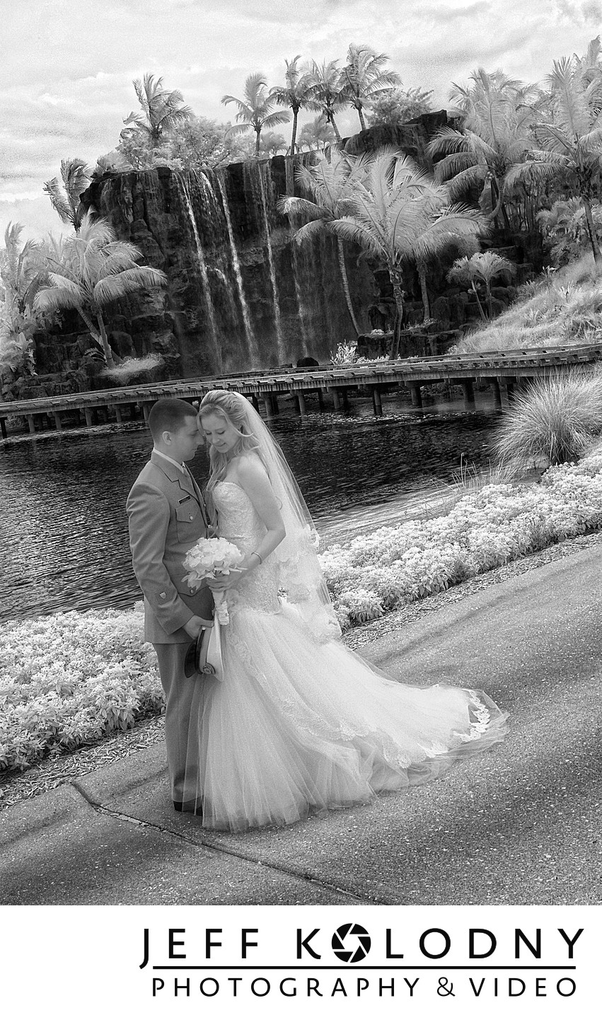 Bride and Groom at Turnberry Miami