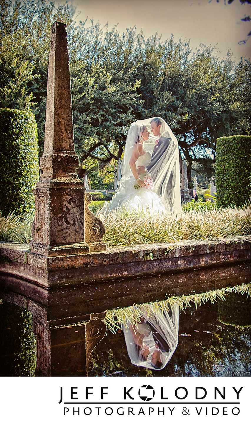 Creative Vizcaya wedding photography
