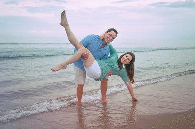 Delray Beach Engagement Photo